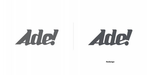 comparação entre marca antiga e nova